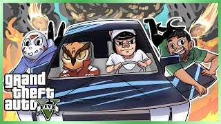 GTA 5 Online Funny Moments - Epic DeLorean Mission! (GTA The Doomsday Heists)