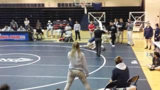 Nicole Joseph Wrestling King University Open 130lbs