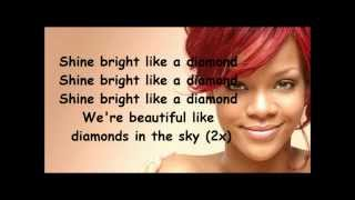 Rihanna Diamonds lyrics