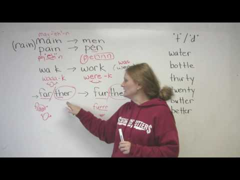 English Pronunciation 4 Common Mistakes
