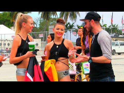 Asking 100 Girls For S*x in Miami Beach Reveals!! | RiskyRobTV