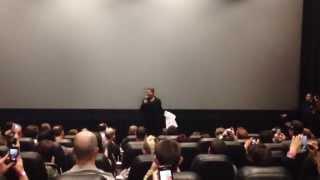 Brad Pitt Surprises Fans at a New Jersey Screening of World War Z