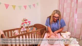 Colic baby massage - 'I Love U massage technique'