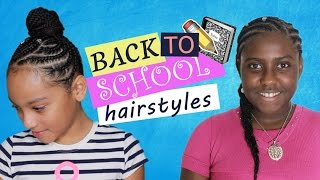 WATCH ME WORK: Back To School Hairstyles For Little Girls