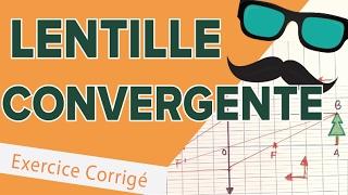 Lentille Convergente - Exercice d'Interro - Mathrix