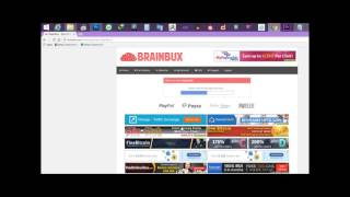 earn moeny to brainbux easy daily earn 2euro and get 0.10euro par click