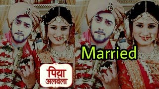 Piya Albela Lead couple is married in real life? |Naren and Pooja photo goes viral
