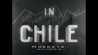 HOUSING IN CHILE  1943 JULIEN BRYAN  WWII U.S. OFFICE OF INTER-AMERICAN AFFAIRS FILM 44184