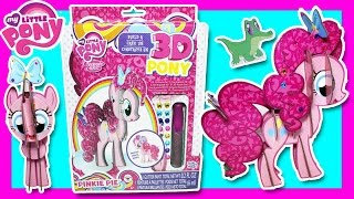 My Little Pony - PINKIE PIE - Build a 3D Pony! MLP Pinkie Pie Toys Video, Unboxing MLP