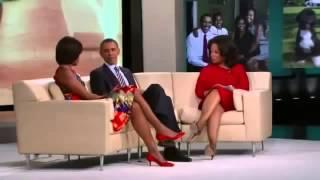 The oprah winfrey show, Barack Obama shows birth certificate on Oprah Winfrey Show HQ