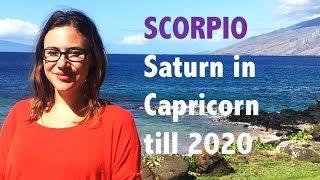 SCORPIO December 2017. BIG KARMIC SHIFT! SATURN in CAPRICORN Predictions for Scorpio till 2020!