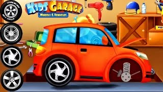 Cars Factory - Car Driving for Kids | Animation Cartoons for Children - Kids Garage Wheels
