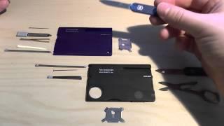 Victorinox swisscard - Quattro vs. Lite
