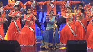 Mind blowing dance by Shamna kasim  | Amrita Film Awards 2014