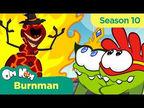 Om Nom Stories - Super-Noms: Burnman (Cut the Rope)