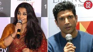 Vidya's Take On 'Tumhari Sullu's Script | Farhan On Hrithik – Kangana Controversy