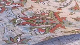 Traditional skills of carpet weaving in Kashan