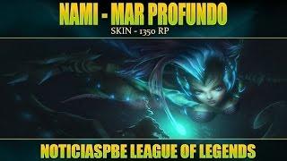 NoticiasLOL | Nueva Skin: Nami Mar Profundo | League of Legends