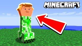 DONALD TRUMP CREEPER | Minecraft Build Battle