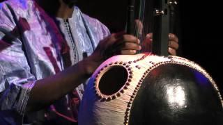 Kadialy Kouyate plays the Brighton Kora Festival 2011