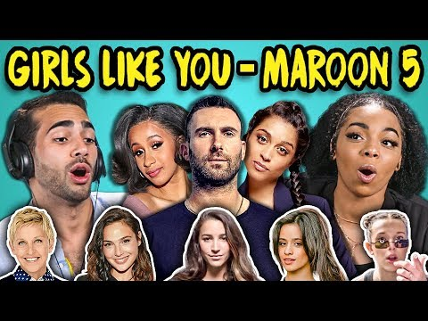 Xxx Mp4 ADULTS REACT TO GIRLS LIKE YOU MAROON 5 Ft Cardi B 3gp Sex