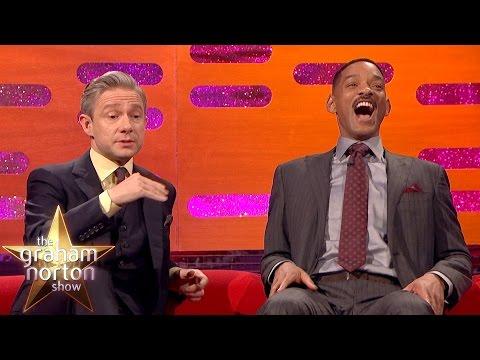 Martin Freeman Hates Getting Recognised at Urinals The Graham Norton Show
