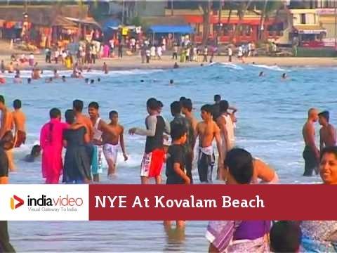 New Year Eve at Kovalam Beach Kerala