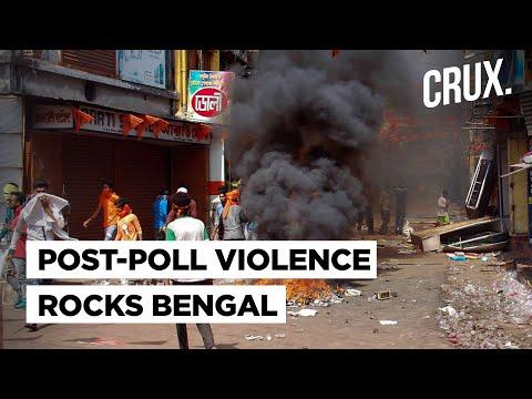 Post Poll Violence Hits Bengal PM Modi Expresses Anguish & MHA Seeks Report