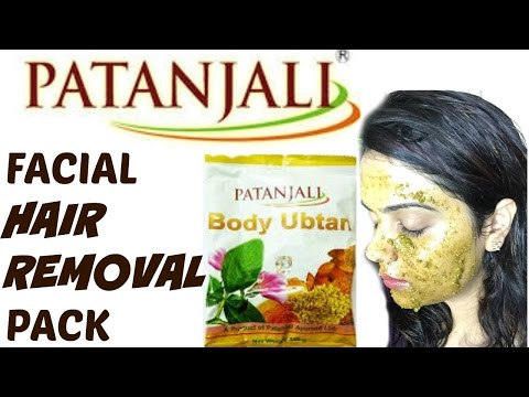 **PATANJALI facial hair removal pack** |Tanutalks|
