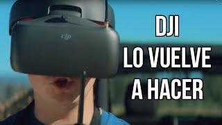 DJI GOGGLES RACING EDITION  Y SU FPV FULL HD EN LOS RACING DRONE[Espacio Drone Live #7]