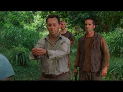 LOST 4x13 There's No Place Like Home (part 2) clip #1 - Richard shoots Keamy