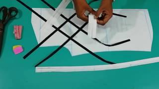 designer shirts for men | designer shirt making useing less/patti | gents designer shirt cutting