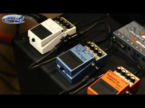 Three new BOSS pedals to take you to another dimension