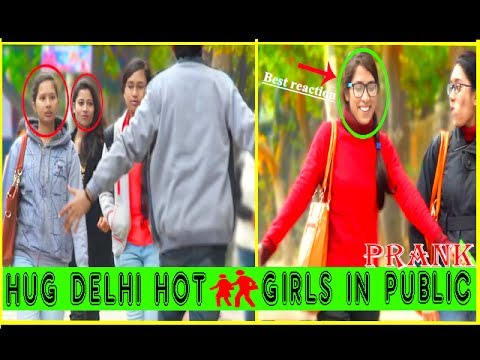 Hugging hot girls in public prank in india 2017 feat.the hungama films (best reaction) | filmybande