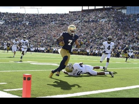 Georgia Tech @ Notre Dame 2015 Condensed Full Game