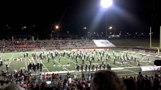 Edmond memorial HS marching band 9-28-12