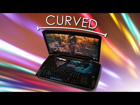 UNBELIEVABLE CURVED SCREEN GAMING LAPTOP Predator 21x Review