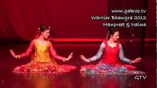 Manpreet and Naina @ Warrior Bhangra 2012
