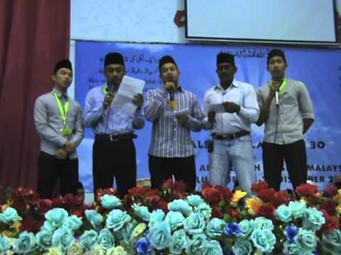 Jalsa Malaysia 2015 Naat video by Qmr Amir