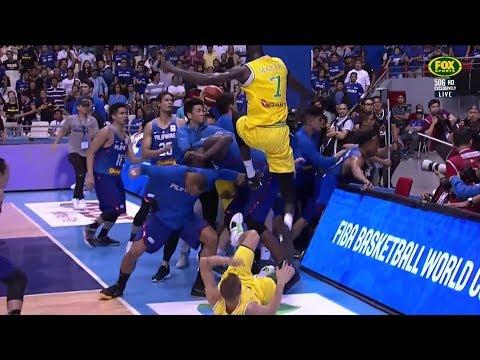 Xxx Mp4 FIBA WC Qualifier Philippines Vs Australia Brawl And 5 Vs 3 Aftermath 3gp Sex