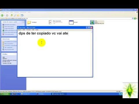 VIDEO AULA Como instalar o the sims 3