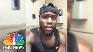 Kevin Hart Donates $25,000 To Hurricane Harvey Victims, Challenges Other Celebrities To Do the Same
