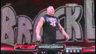 CM Punk vs Alberto Del Rio E Brock Lesnar Ataca Cm punk no final da luta