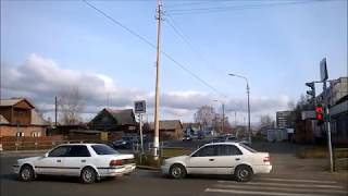 2018-10-20 Prolonged warm autumn, +3°C Bratsk Siberia Russia