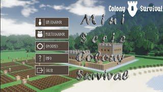 Mini Serie Colony Survival