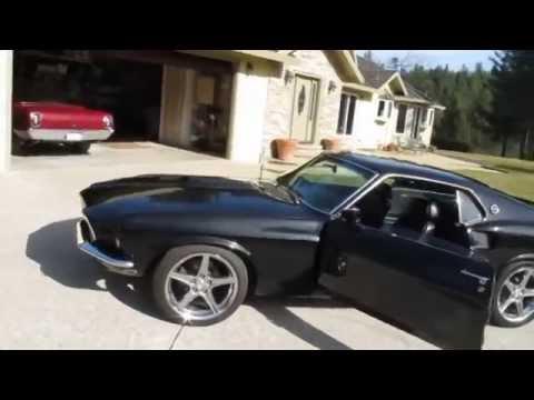 69 Mustang Fastback - 351 Cobra Jet - Dark Horse Customs - Fastbacks and Mach 1's for America!