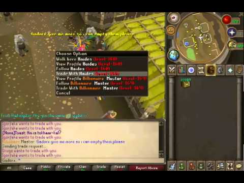 MasterScape Duping 317 Ruining Eco RSPS Glitching Bug Abuse