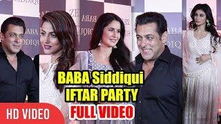 Baba Siddiqui Iftar Party 2018 FULL VIDEO | Salman Khan, Katrina Kaif, Hina Khan