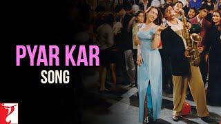 Pyar Kar Song | Dil To Pagal Hai | Shah Rukh Khan | Madhuri Dixit | Karisma Kapoor