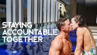 Staying Accountable Together | Healthy Dieting While Traveling